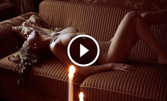 Катрине Балф Делают Куннилингус – Чужестранка (2014)